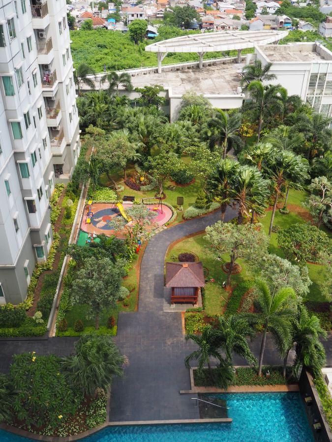 Garden and Kids Playground Thamrin Residences - Apartment Thamrin Residence